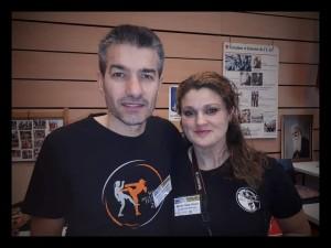 Franck Président / Entraîneur et Anita Trésorière du MTF85